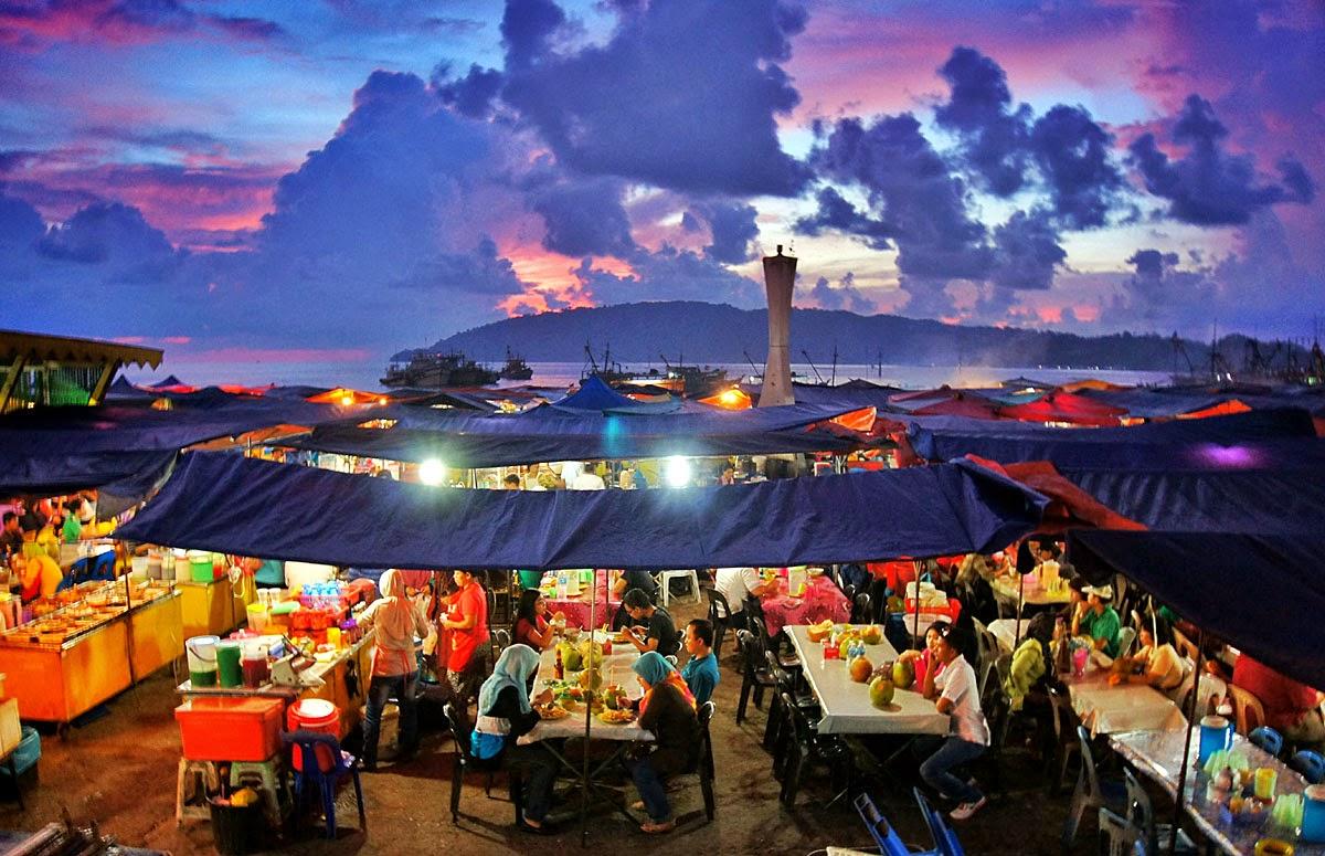 KK Night Market Sabah