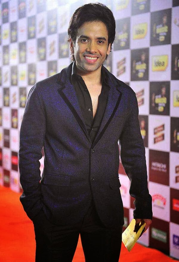 Tusshar Kapoor at Mirchi Music Awards 2014
