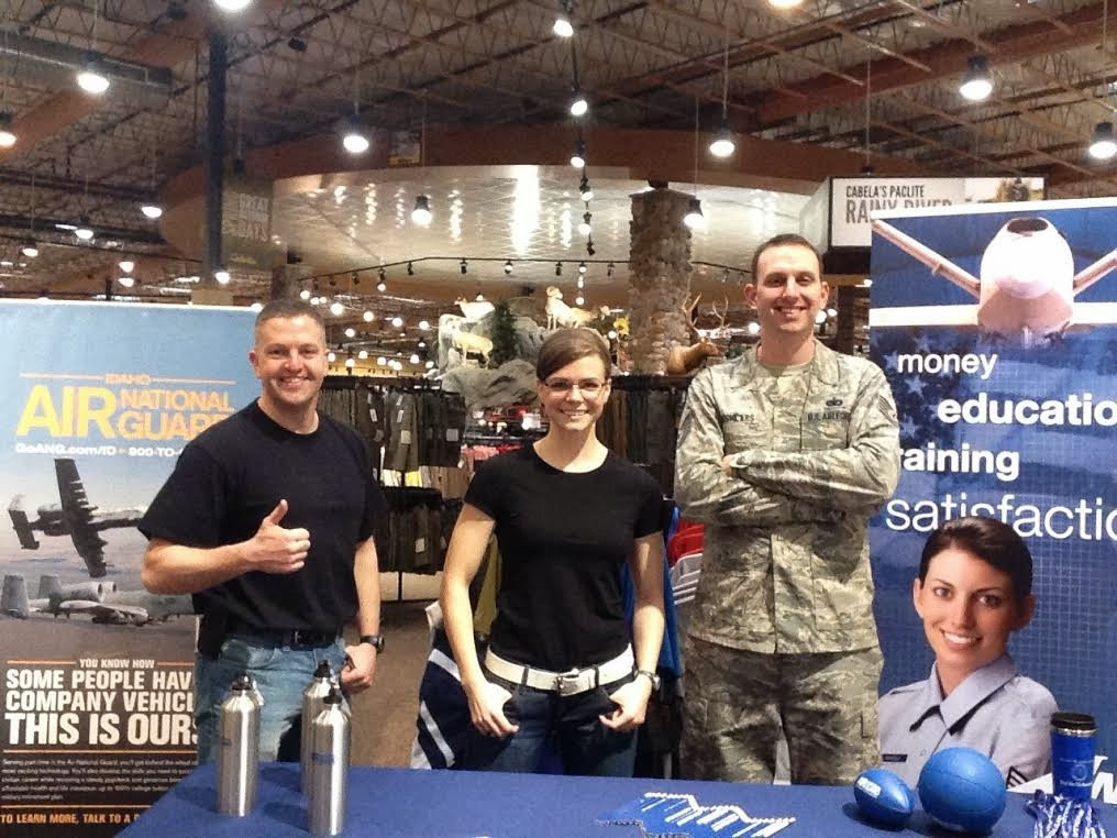 Air National Guard Recruiters, Air Force Recruiters