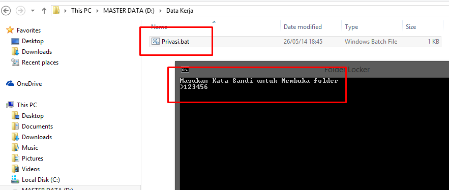 Proteksi File Tanpa Software di Windows