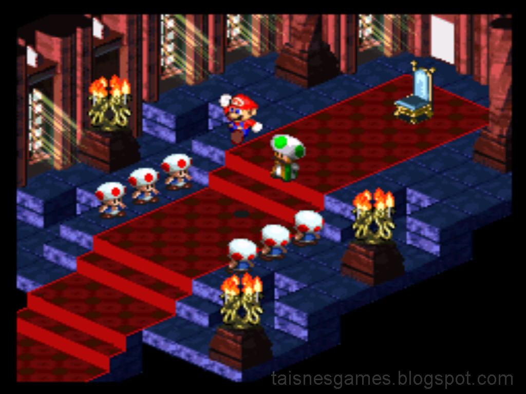 Classic Game Super Mario RPG Legend Of The Seven Stars