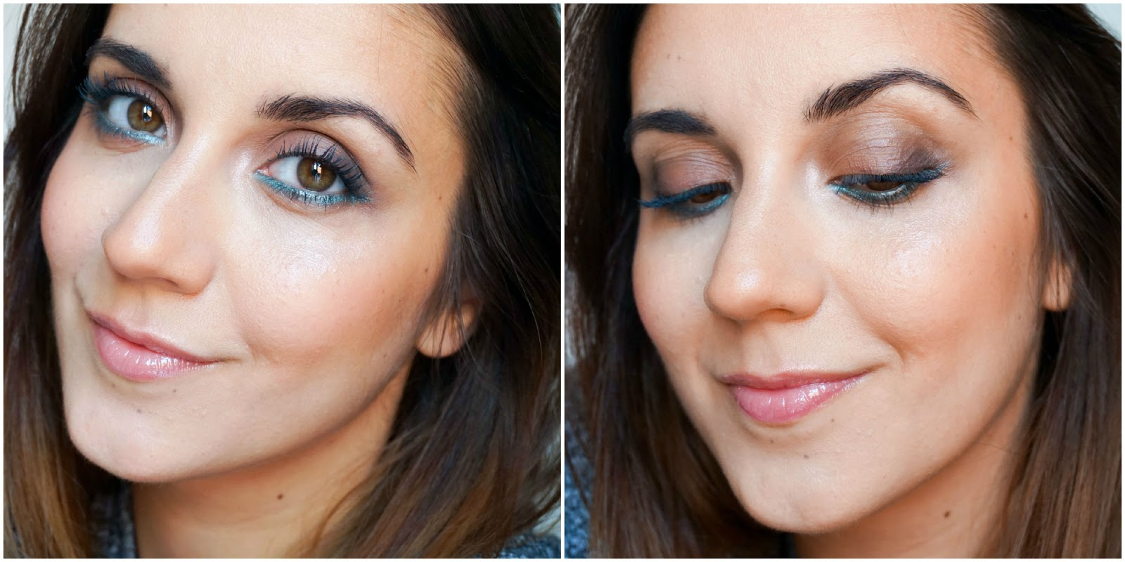 Aquatic Green Makeup Look, CLARINS