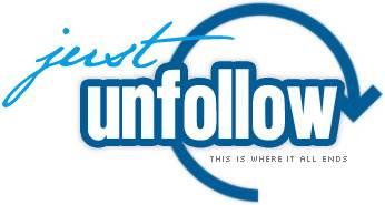 JustUnfollow App Logo