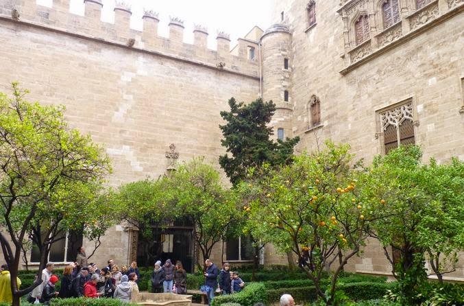 Lonja de la Seda de Valencia.