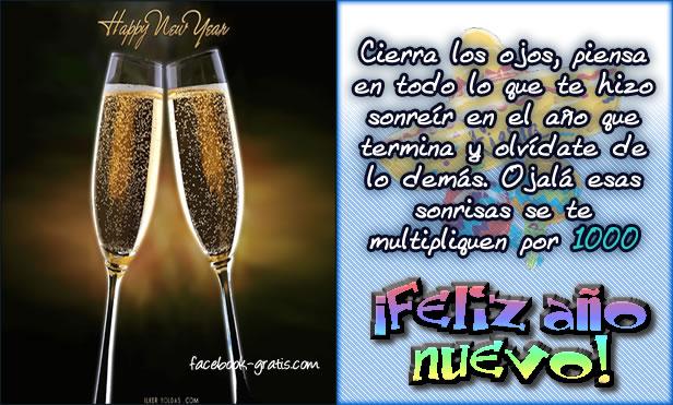Año Nuevo mensajes