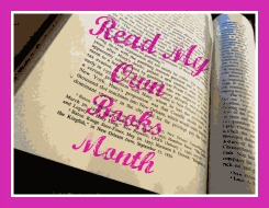 Image: Read My Own Books Month Button