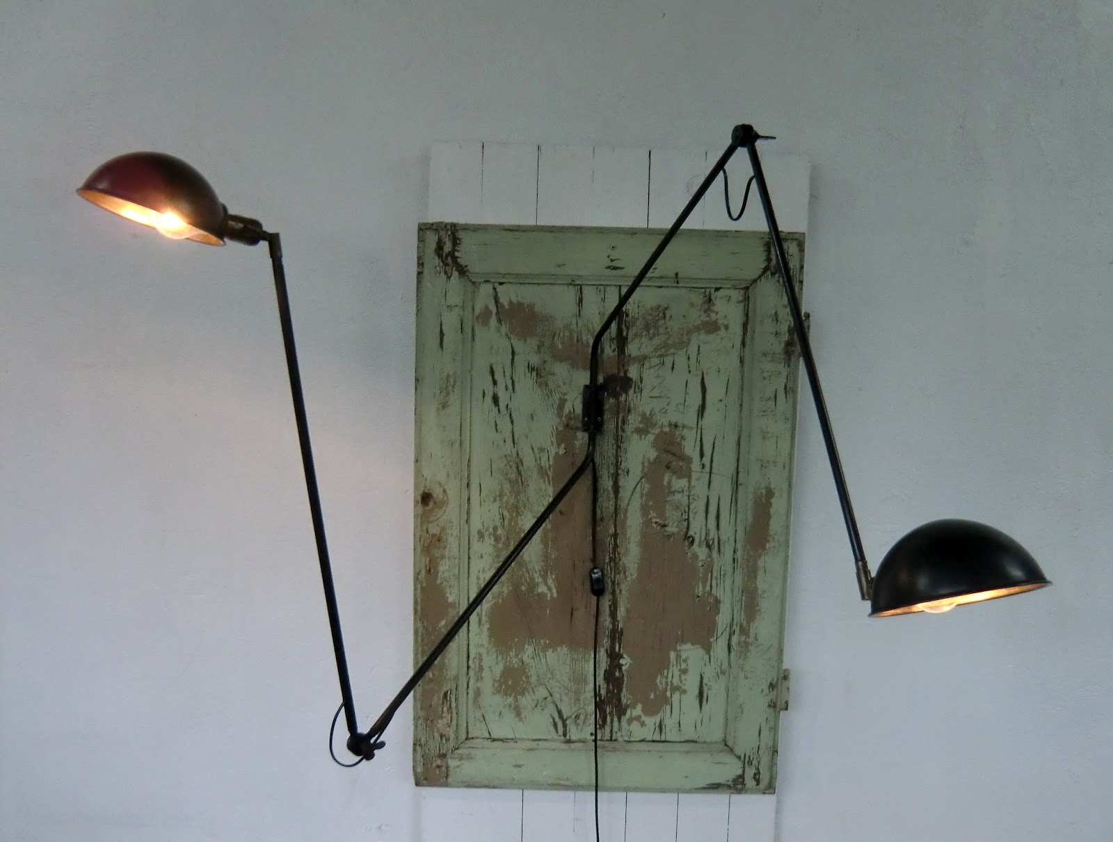 Genial lampe murale industrielle/wo and w collection applique ...