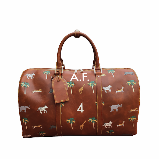 Wes Anderson Darjeeling Luggage Travel Duffel Bag