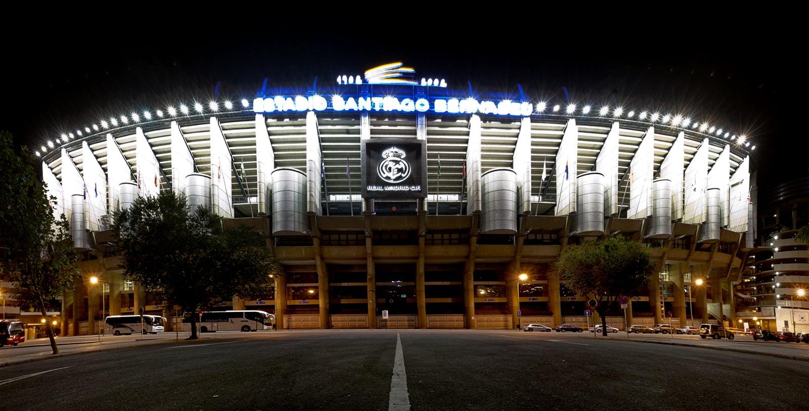 Educaci n f sica y cultura f sica el estadio santiago for Puerta 6 santiago bernabeu