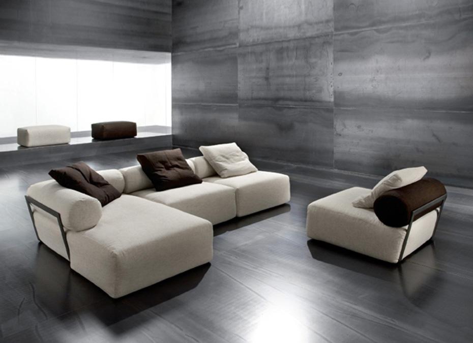 Sala De Estar Minimalista Moderno ~ Las salas en colores tierra (beige, chocolate, cafés, terracota, etc
