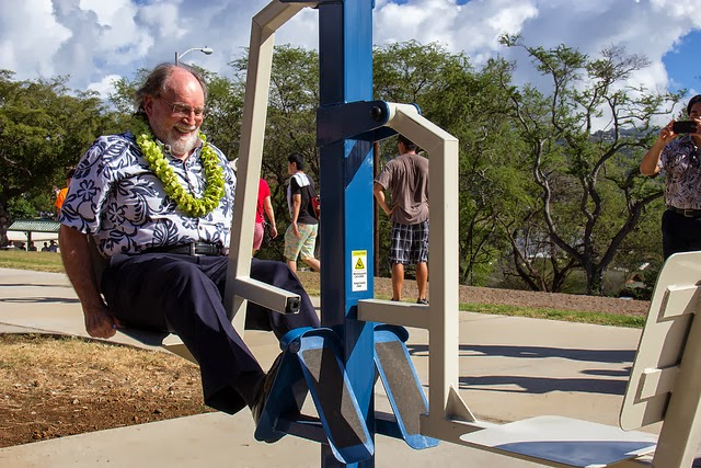 historic hawaii foundation news state dedicates new diamond head fort ruger pathway and bryan. Black Bedroom Furniture Sets. Home Design Ideas