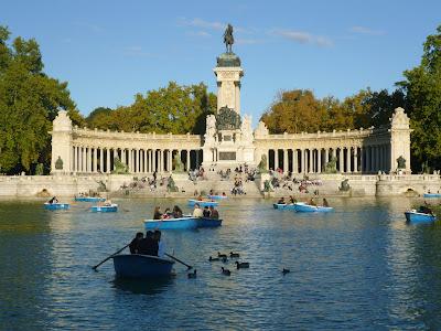 Parque del Retiro -Madrid - que visitar