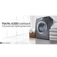 Buy Washing Machines Extra upto Rs.10000 Cashback: BuyToEarn