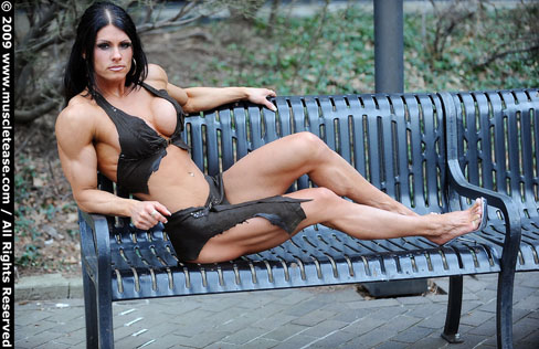 Kristina Dybdahl Female Muscle Bodybuilding Blog Fitness Figure