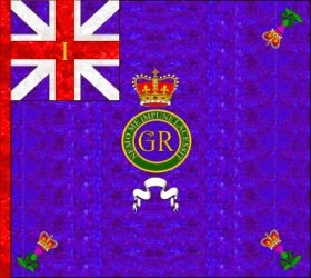 1st Regiment of Foot (The Royal Regiment) Regimental Colour