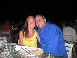 Tommy and I in Bermuda, November 2010
