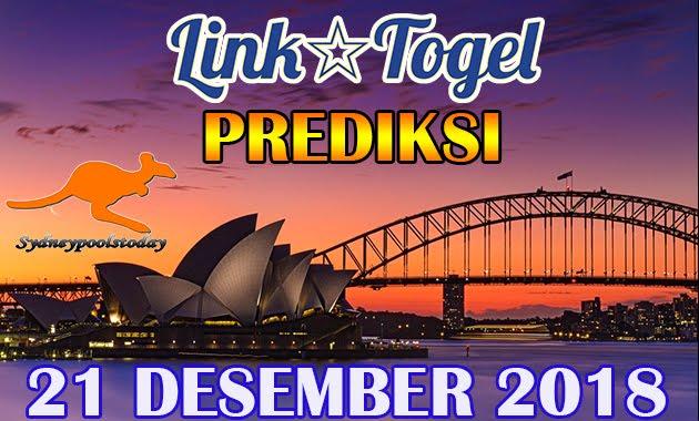 Prediksi Togel Sydney 21 Desember 2018