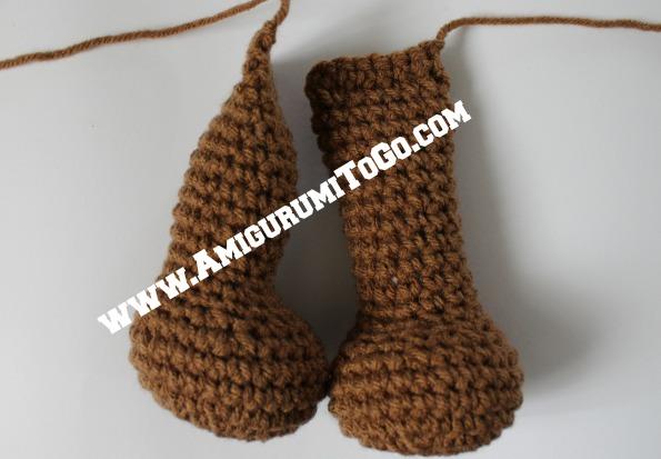 Amigurumi Legs Body : Large Crochet Moose Free Pattern ~ Amigurumi To Go