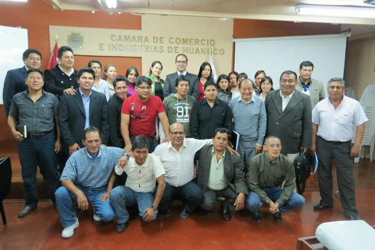 Curso de Conciliación Extrajudicial - Huánuco, Mayo 2013.