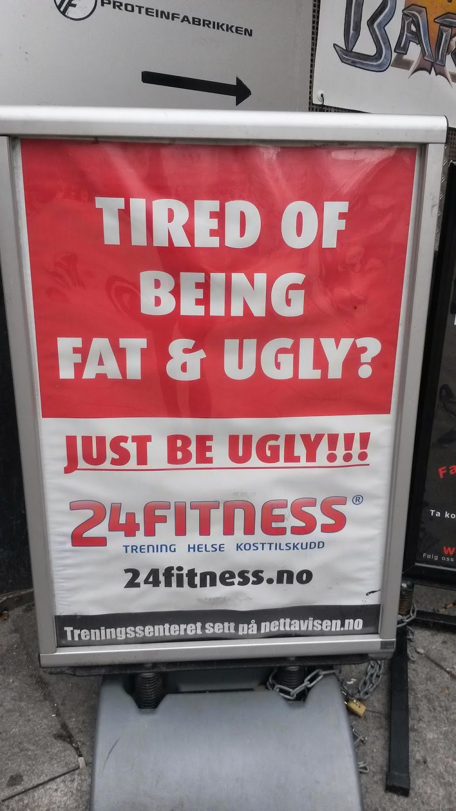 is being fat ugly