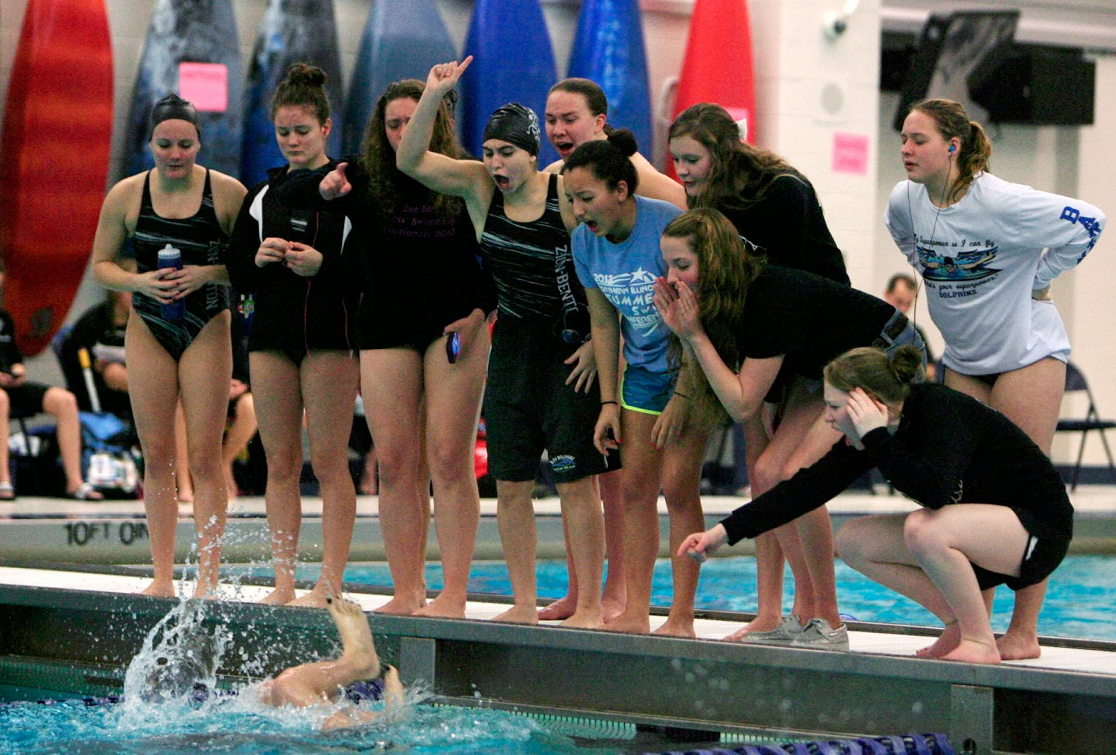 Mark Kodiak Ukena: IHSA Sectionals Girls Swimming