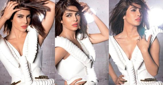 Priyanka Chopra Hot Photoshoot for FEMINA Magazine Photos