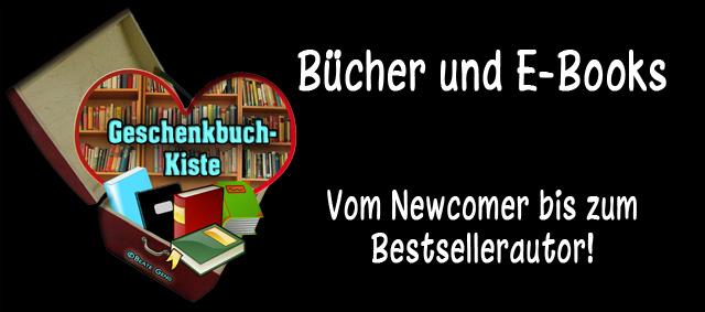 Buecher und E-Books - Vom Newcomer bis zum Bestsellerautor