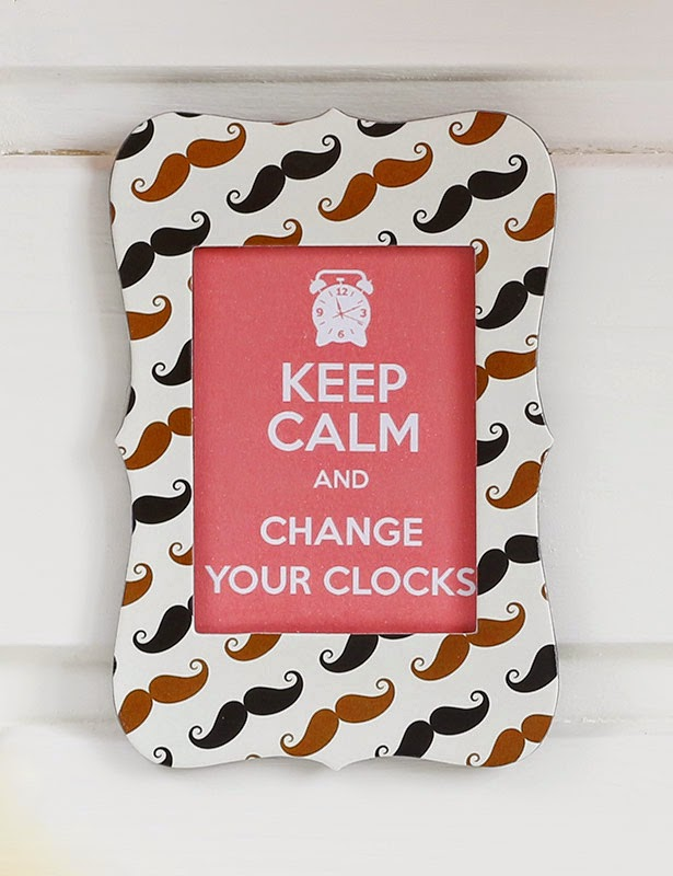 Keep calm and change your clocks