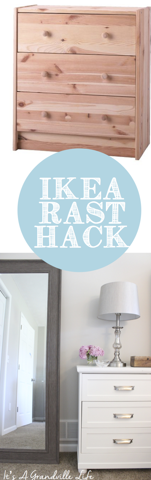 it s a grandville life diy ikea rast hack in case you are unfamiliar with the ikea rast chest it is an unfinished pine chest that well in my opinion looks a little blah as is