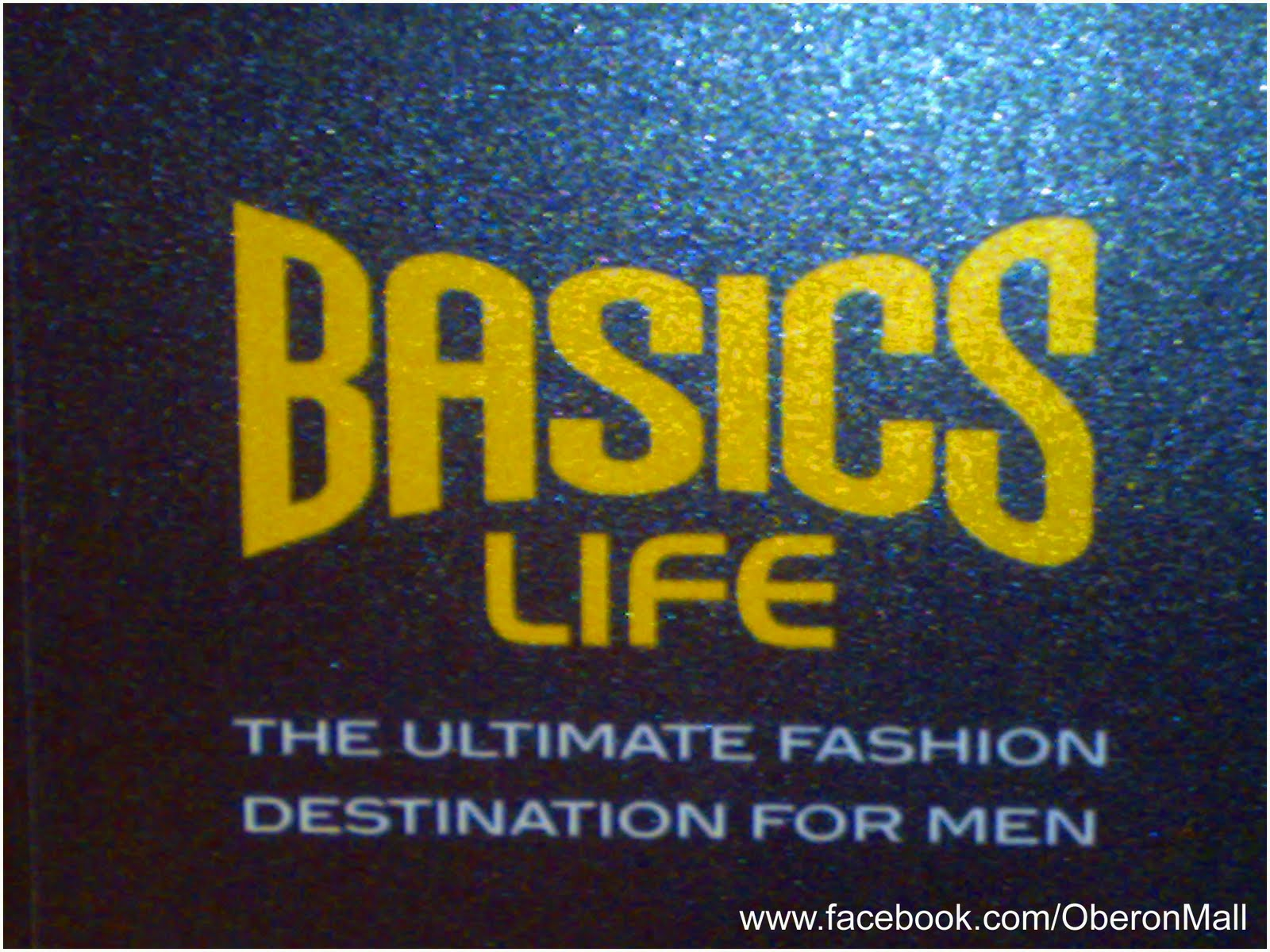 Oberon Mall: Offers @ Basics Life.