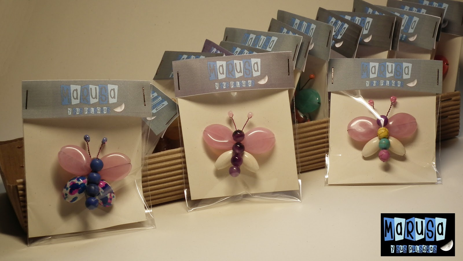broche marusa mariposa colores bonito original barato € regalo reyes madre novia detalles boda