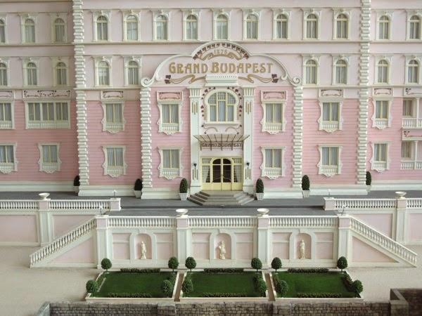Grand Budapest Hotel movie model