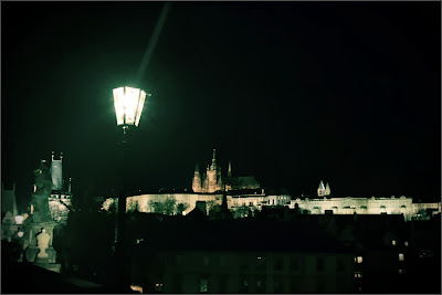 Prague Castle View from Charles Bridge