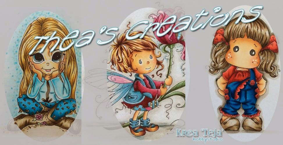 De Scrapcard Blog van Thea                                   (Krea 'Teja')