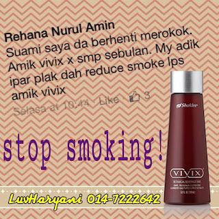 Testimoni Berhenti Merokok Dengan Cepat & Berkesan