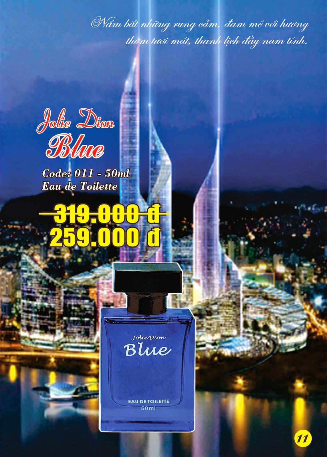 Jolie Dion Blue For Men