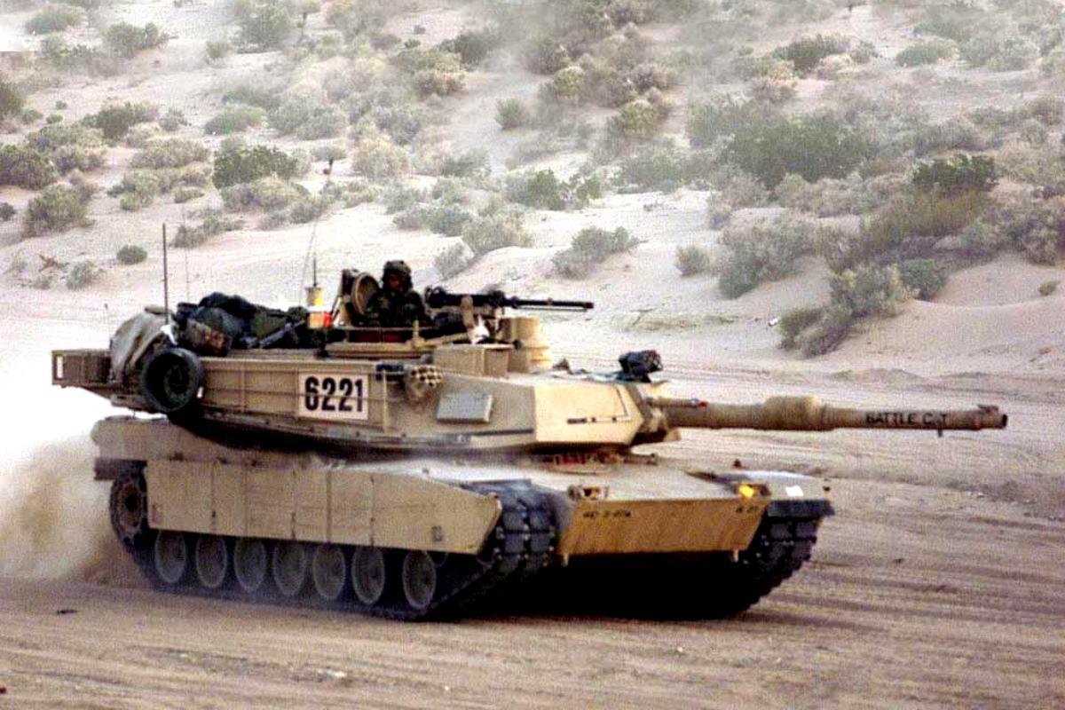 Tank MIA2 Abrams