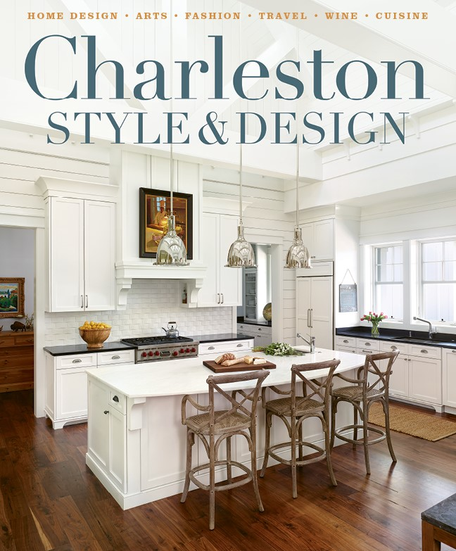 Structures blog on the cover of charleston style design for Charleston home design magazine