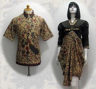 baju batik 2012 terbaru