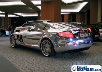 Kereta Mercedes Dari Emas Putih