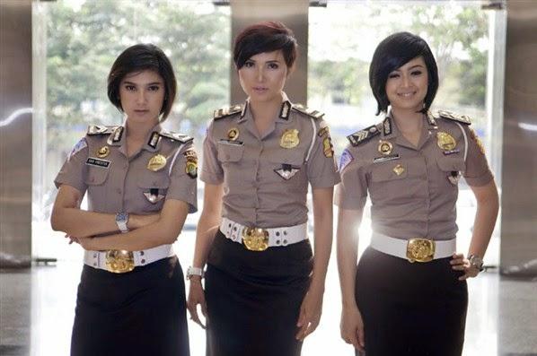 Foto Polwan - polwan Cantik Indonesia