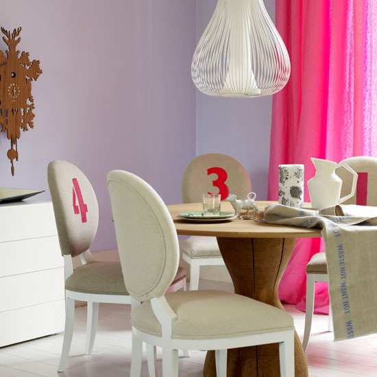 New Home Interior Design: Modern dining rooms