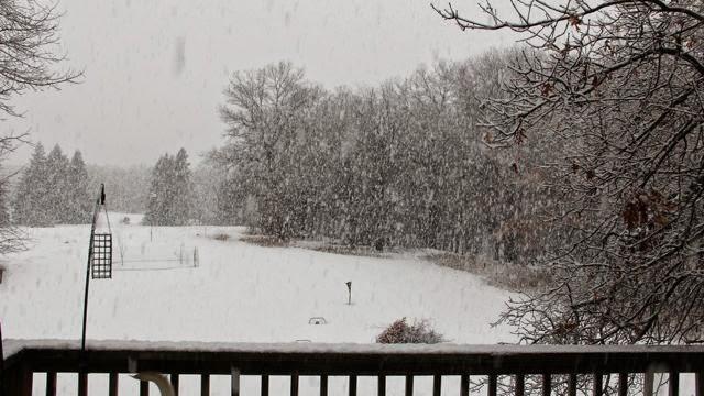 March 27, 2014 snowfall