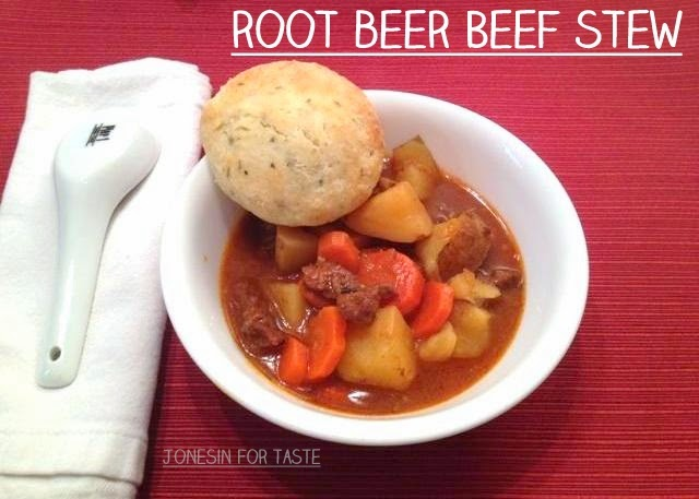 Dutch Oven or Crock Pot Root Beer Beef Stew