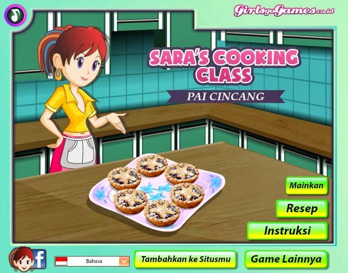 Mainkan permainan memasak lainnya seperti permainan memasak pai
