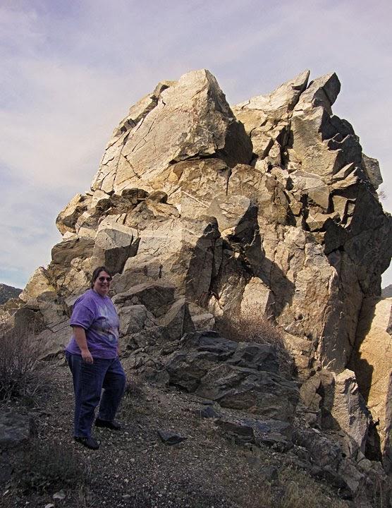 rock formation along CA Hwy 38 between Yucaipa and Big Bear Lake