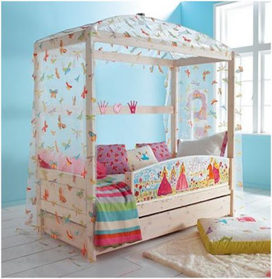 BUTTERFLY TULL FOR BEDROOMS - IDEAS TO DECORATE A GIRLS BEDROOM WITH BUTTERFLIES