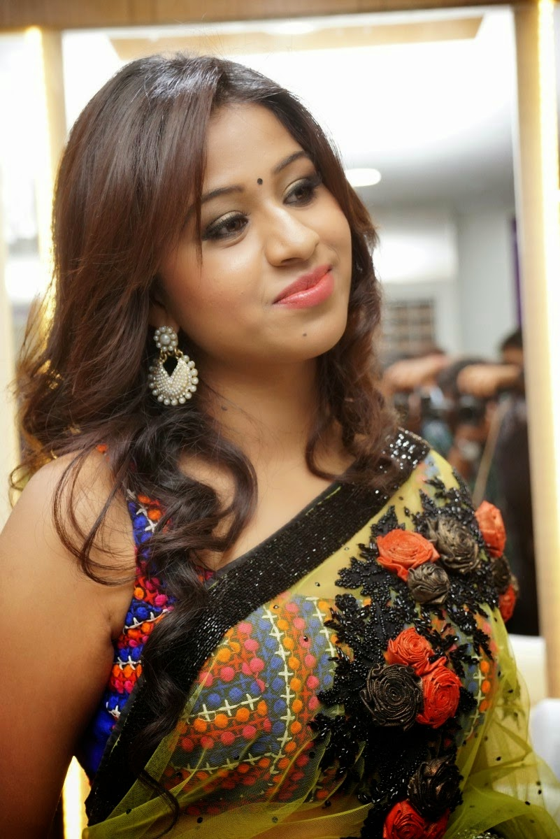 Manali Rathod Sizzling At Naturals Spa Event Stills