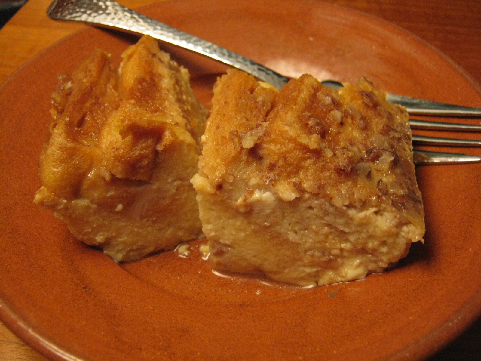 Gadding About with Grandpat: Sinfully Easy Caramel Bread Pudding