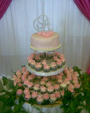 Cake and cupcakes for wedding
